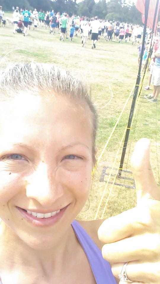 A Run in the sun on Sun just for Fun!
