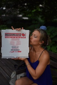 Mozzerelli's gluten-free pizza: Southampton Personal Trainer Gen Preece