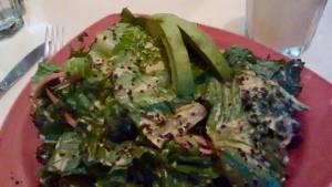 Rockin Raw Kale Dulse Salad: Rockin Raw Kale Dulse Salad: Rockin Raw Kale Dulse Salad: Southampton Personal Trainer Gen Preece