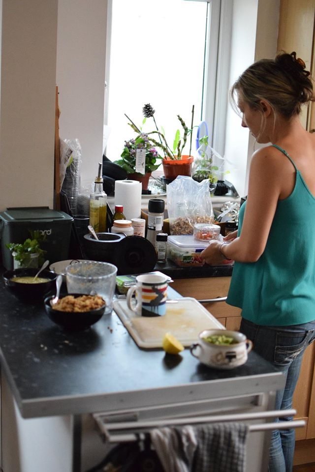 Spring Nourish at Home: and so we did!