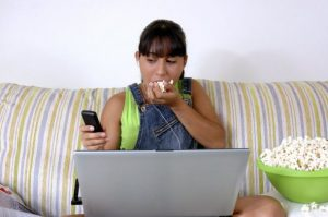Is your phone making you fat? Southampton personal trainer Gen Preece Boot camp