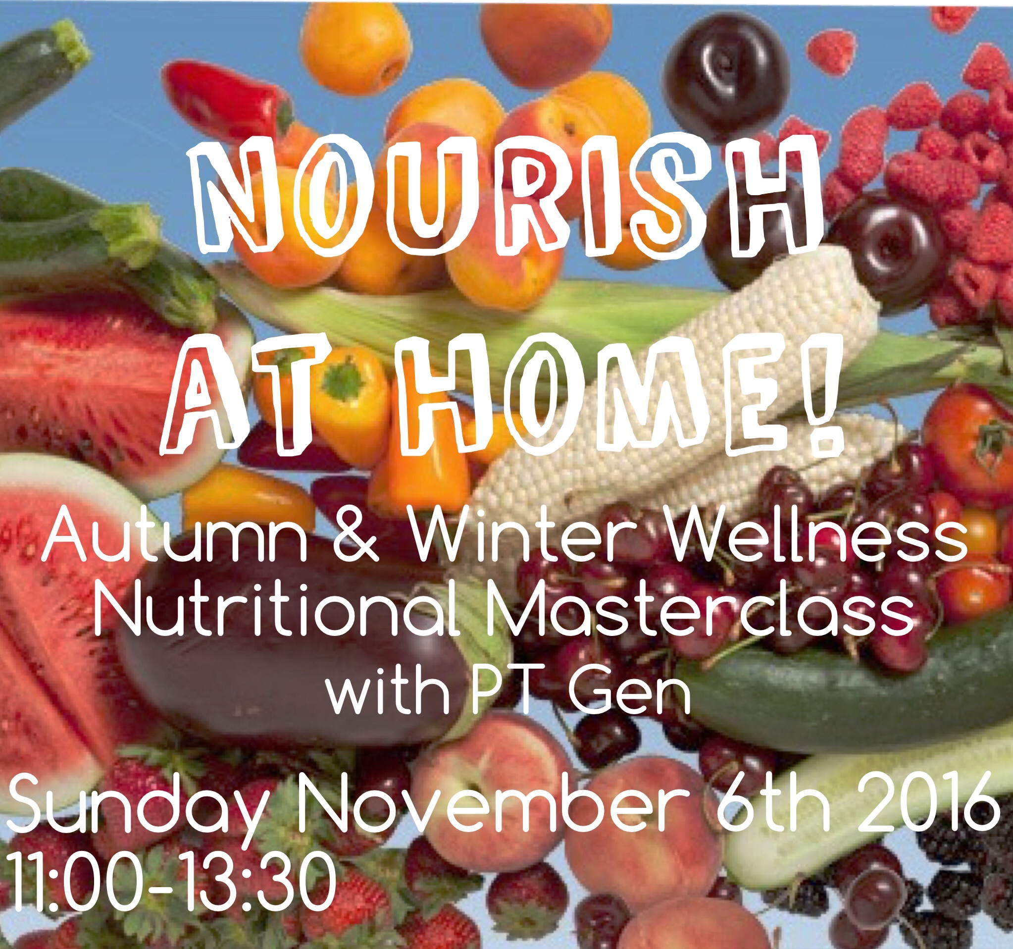Get ready to Nourish like never before!