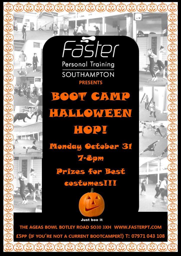 Southampton personal trainer Gen Preece boot camp