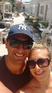 Southampton personal trainer Gen Preece Boot camp gluten-free Mykonos