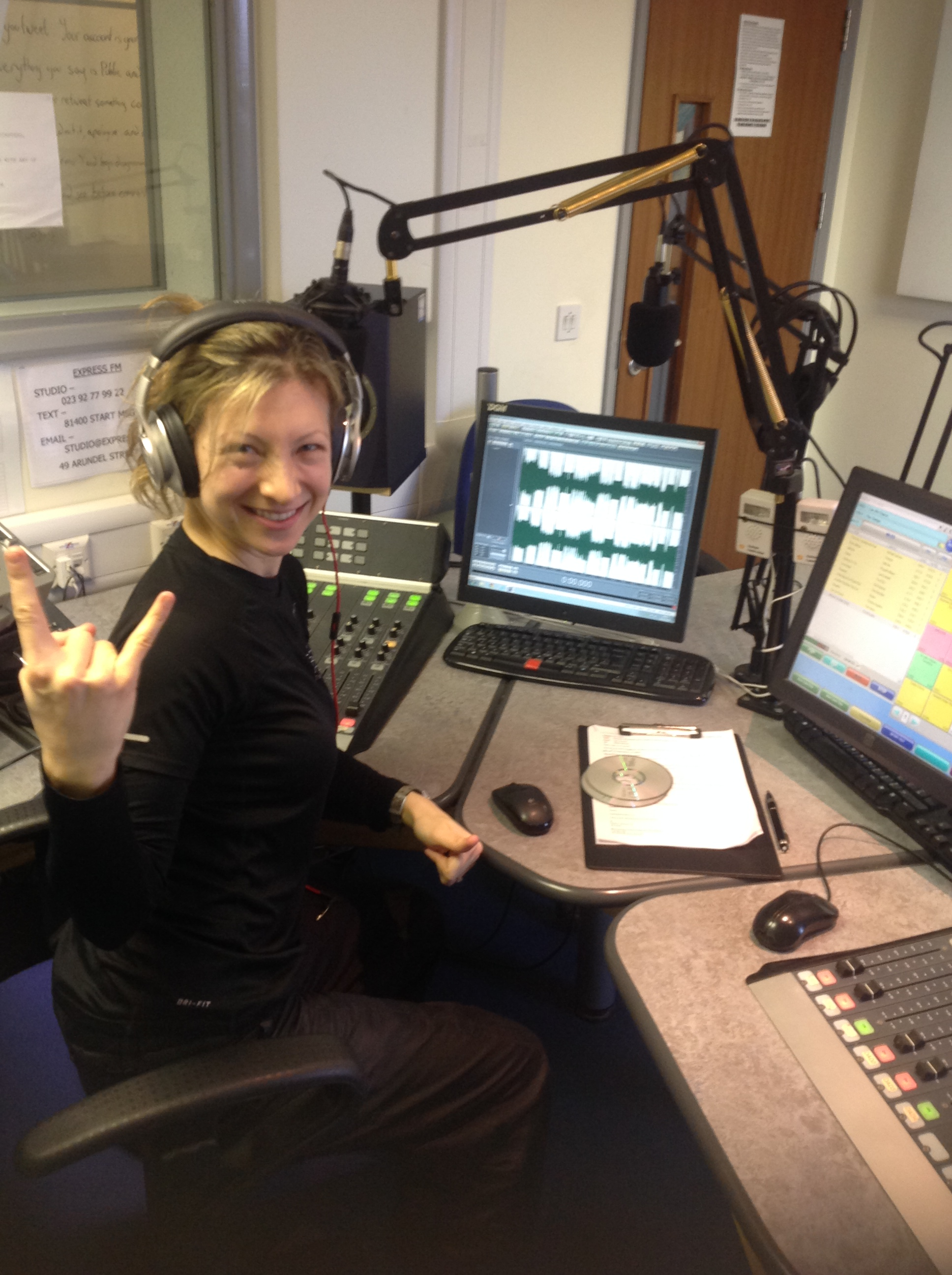 Back on 93.7 Express FM: fads, fitness…and Jason Donovan!