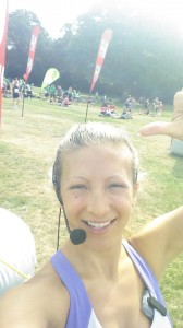Personal Trainer Gen Levrant at Southampton Big Fun Run
