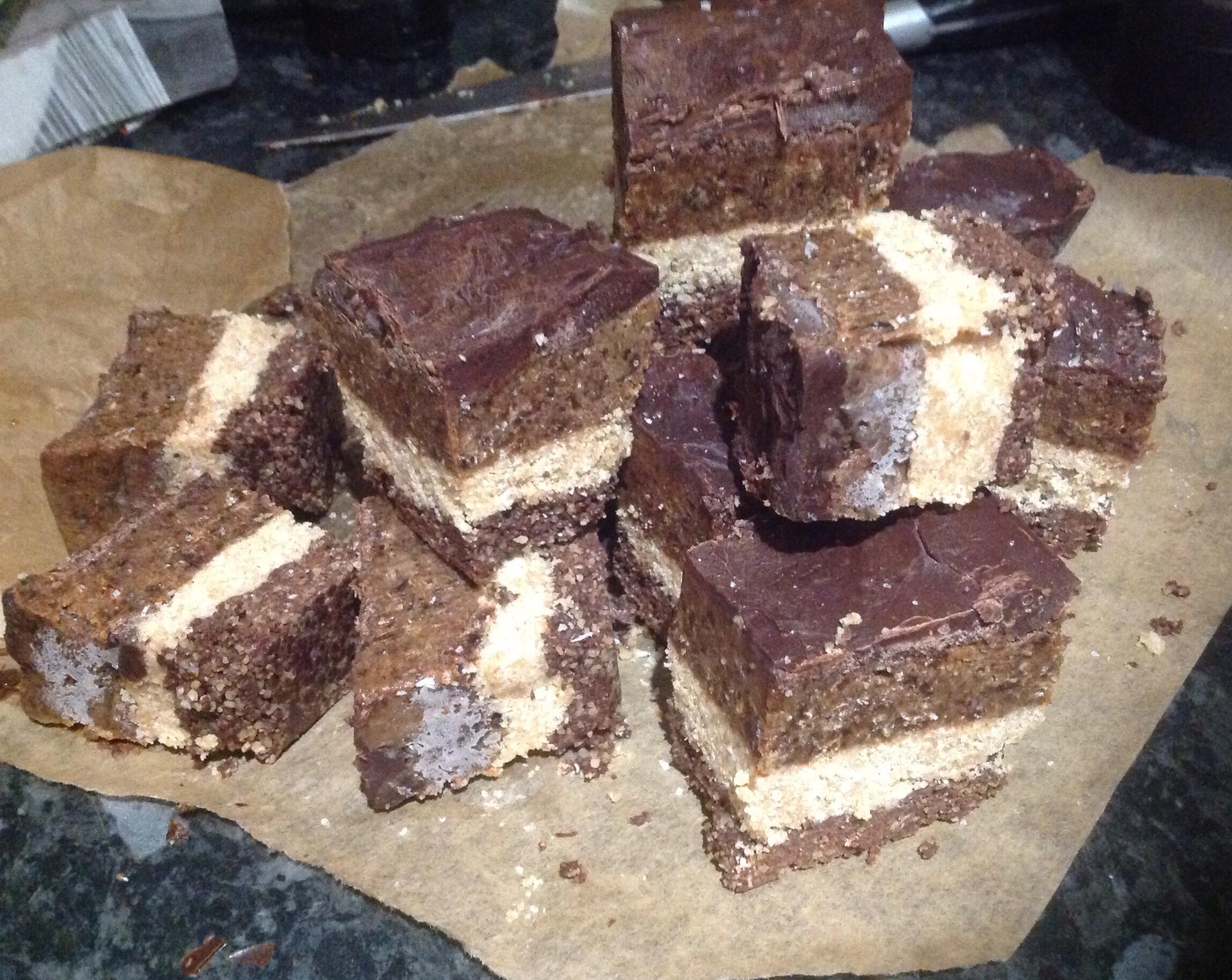 Healthy Gluten & Dairy free Refined Sugar Free Multi-BILLIONAIRE Shortbread