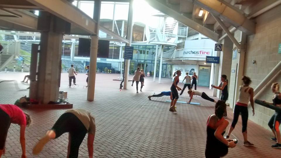 Personal Trainer Gen Preece Faster Boot Camp Ageas Bowl Southampton