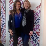 Southampton Personal Trainer Gen Preece with BBC Solent's Katie Martin