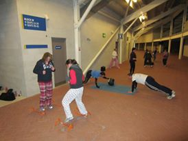 Comic Relief Boot Camp Pyjama Party Faster Personal Trainer Southampton