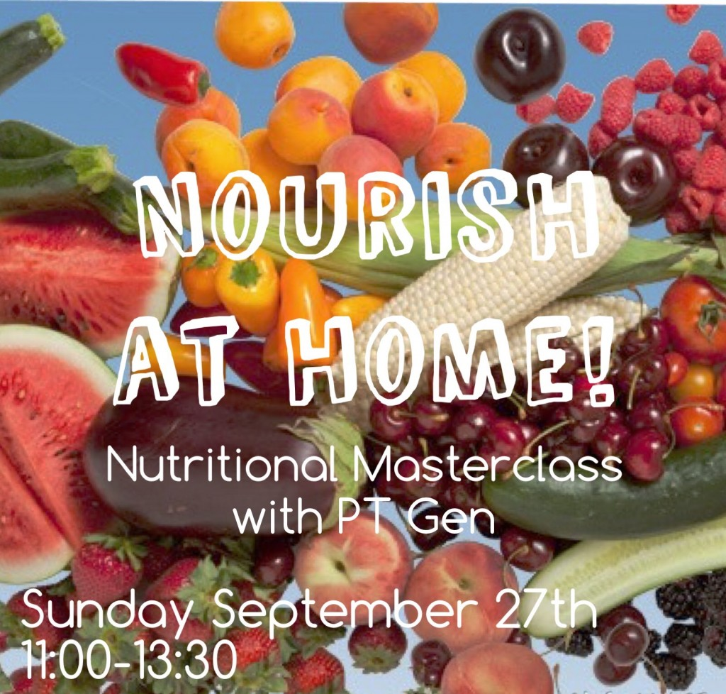 Nourish at Home: Southampton Personal Trainer Gen Preece