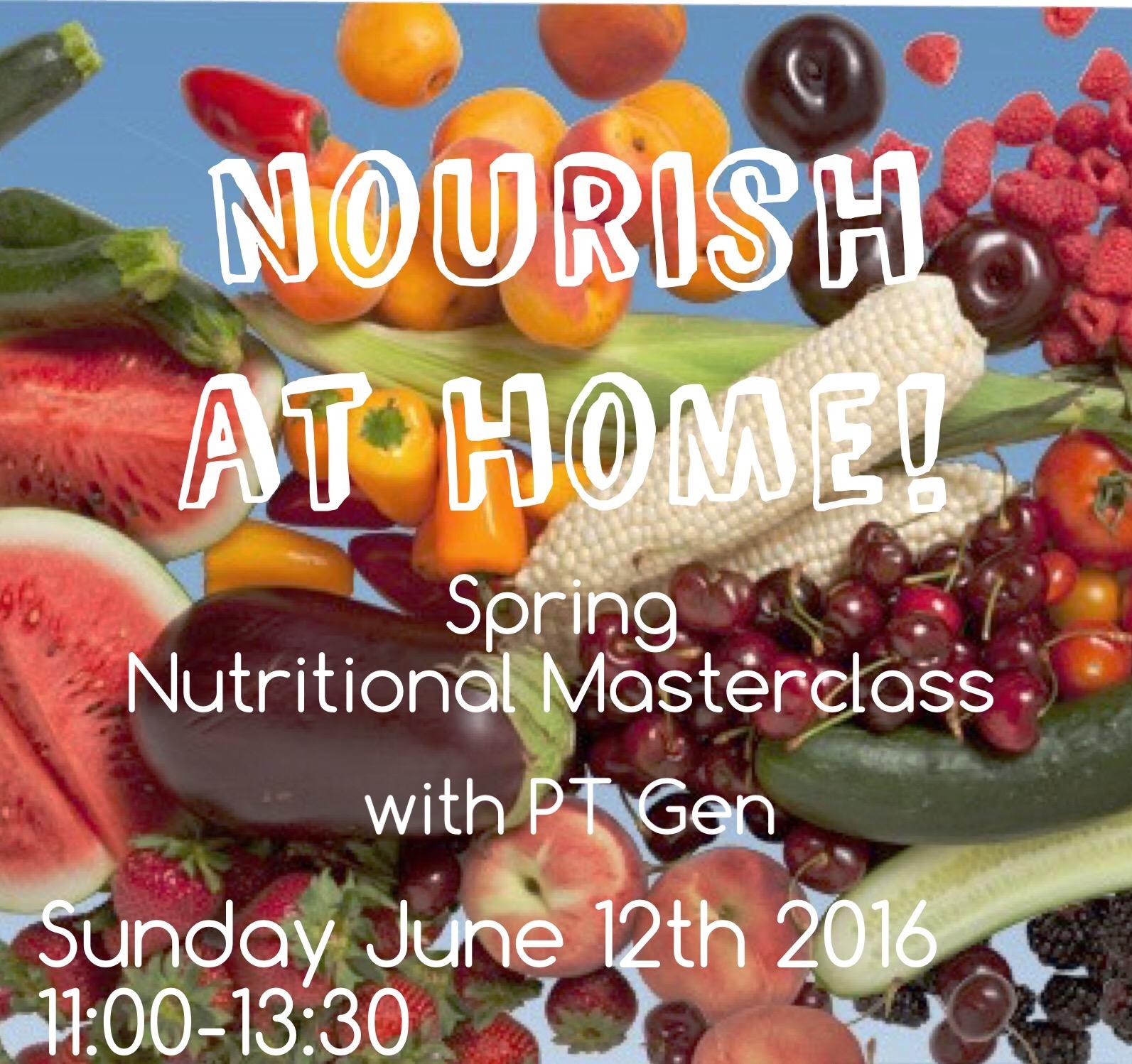 Nourish st a Home Spring: Southampton Personal Trainer Gen Preece