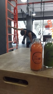 Southampton Personal Trainer Gen Preece at New Moves Bangkok Me juice