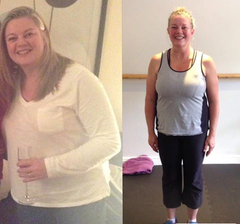 Debbie before and after: Southampton personal trainer Gen Preece Boot camp