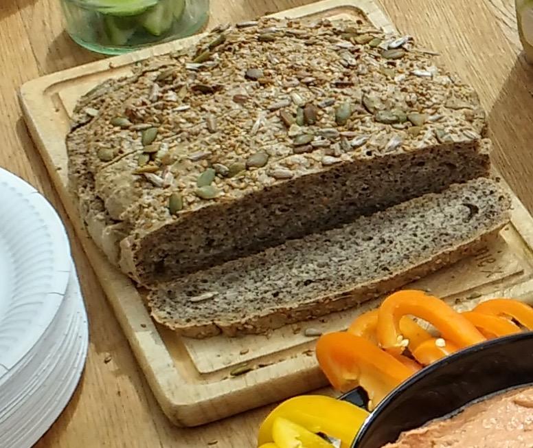 Artisan rustic gluten free bread southampton personal trainer Gen preece boot camp