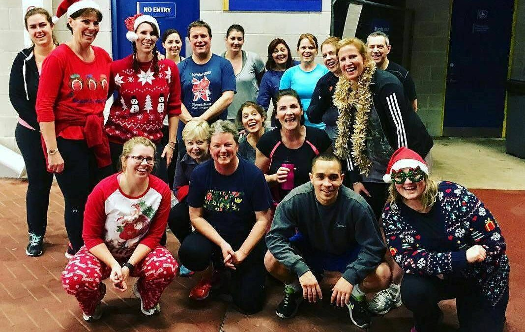 The Best Christmas Boot Camp Party in Southampton!