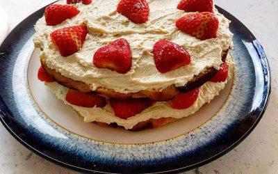 Victoria Sponge Recipe: sugar, gluten, grain & dairy free!